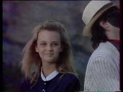 Vanessa Paradis Joe Le Taxi à 40 ° à l'ombre, le 15 août 87