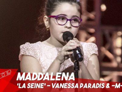 Maddalena - & # 39; La Seine & # 39;   Auditions aveugles   The Voice Kids Belgique