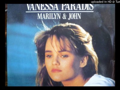 VANESSA PARADIS MARILYN & JOHN