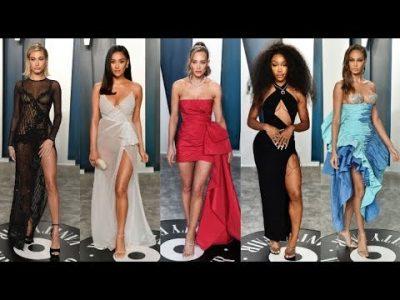 VANITY FAIR OSCAR Party 2020 Celebrities Arrivals & Best Women Dress (part2)